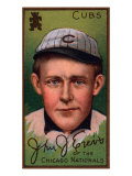 Chicago, IL, Chicago Cubs, John J. Evers, Baseball Card Prints by  Lantern Press