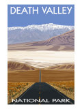 Death Valley National Park, California, Highway Scene Poster von  Lantern Press