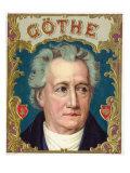 Goethe Brand Cigar Box Label Prints by  Lantern Press