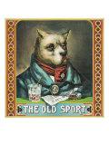 The Old Sport Brand Tobacco Label Prints by  Lantern Press