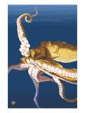 Pulpos Lámina giclée prémium por  Lantern Press