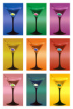Martini Pop Art Poster