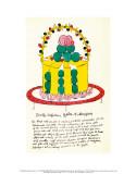 Wild Raspberries, c.1959  (yellow and green) Kunstdrucke von Andy Warhol