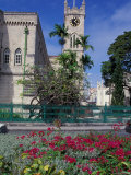 Government House, Bridgetown, Barbados, Caribbean Photographic Print by Robin Hill