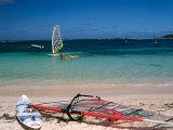 Baie de l'Embouchure, St. Martin, Caribbean Fotografisk trykk av Greg Johnston