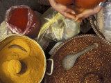 Spice Market, Vietnam Fotografie-Druck von Keren Su