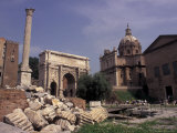 Arch of Septimius Severus, Rome, Italy Photographic Print by Connie Ricca