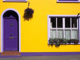 Bed and Breakfast, Kinsale, County Cork, Ireland Reproduction photographique par David Barnes