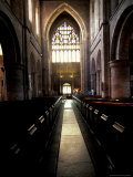 11th Century Monastery, The Abbey, Shrewsbury, England Reproduction photographique par Nik Wheeler