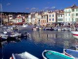 Harbor View, Cassis, France Reproduction photographique par Walter Bibikow