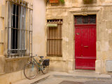 Bicycle, Arles, Provence, France Fotoprint van Lisa S. Engelbrecht