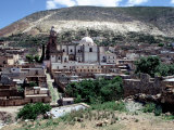 View of Real de Catorce, Mexico Fotoprint av Alexander Nesbitt