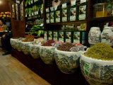 Ju Xian Ming Tea Company, Dashanlan Street, Old Beijing, China Lámina fotográfica por Pete Oxford