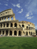Ruins of the Coliseum, Rome, Italy Photographic Print by Bill Bachmann