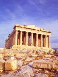 Parthenon on Acropolis, Athens, Greece Photographic Print by Bill Bachmann