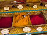 Spices at the Outdoor Market, Nice, France Fotografie-Druck von Charles Sleicher