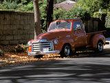 Old GMC Truck During Fall, Santa Barbara, California, USA Photographic Print by Savanah Stewart