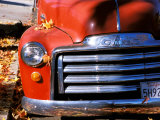 Old GMC Truck During Fall, Santa Barbara, California, USA Photographic Print by Savanah Stewart