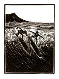 Hawaii Surf Giclee Print