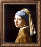 Girl with a Pearl Earring (2003) Poster por Johannes Vermeer