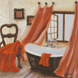 Antique Bath II Prints by  Hakimipour-ritter