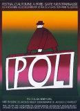 POL Serigrafiprint (silkscreentryck) av Jean Michel Folon