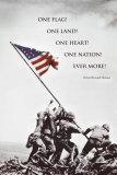 American Flag at Iwo Jima Plakater