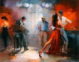 Tango Kunstdrucke von Willem Haenraets