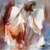 Summerdress II Posters av Willem Haenraets