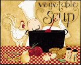 Vegetable Soup Affiches par Dan Dipaolo