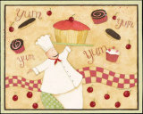 Yum Yum Posters by Dan Dipaolo