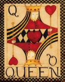 Reine de cœur Affiche par Dan Dipaolo