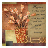 Jazz floral I Arte por Jill Barton