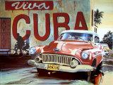 Viva Cuba Poster von Alain Bertrand