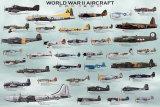 Andra världskriget - flygplan Posters