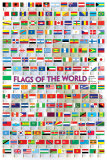 Flags of the World 2008 Posters
