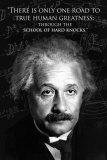 Einstein - Human Greatness Posters