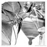Martini Glasses I Affiche par Jean-François Dupuis