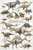 Dinosaurs - Cretaceous Period Posters