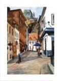 Sous-le-Fort Street Prints by Ginette Racette