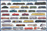 Modern Locomotives Affiches
