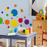 Apenas bolotas, cores primárias Adesivo de parede
