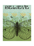Believe Butterfly Prints by Ricki Mountain