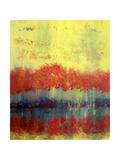 Autumn Bleed Print by Ruth Palmer