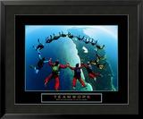 Teamwork: Skydivers II Art