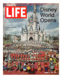 Disney World Opens, October 15, 1971 Premium Photographic Print by Yale Joel
