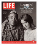 TV Co-stars Tracy Morgan and Tina Fey, September 8, 2006 Photographic Print by Cass Bird