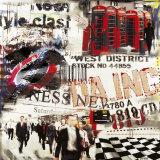 London West District Kunst von Vincent Gachaga