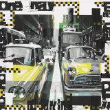 Two Cabs Poster von Vincent Gachaga