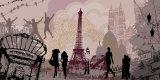 Paris with Love Affiches par  Farkas